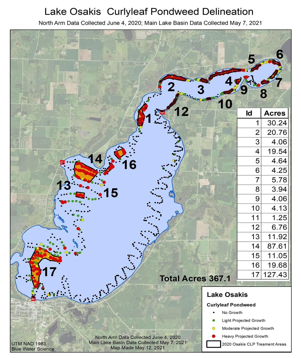 clp survey map